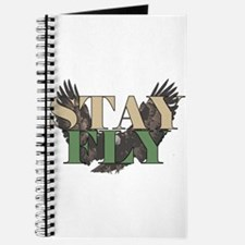Stay Fly - Bald Eagle - Hunter Green Journal