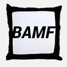 BAMF Throw Pillow