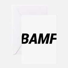 BAMF Greeting Cards