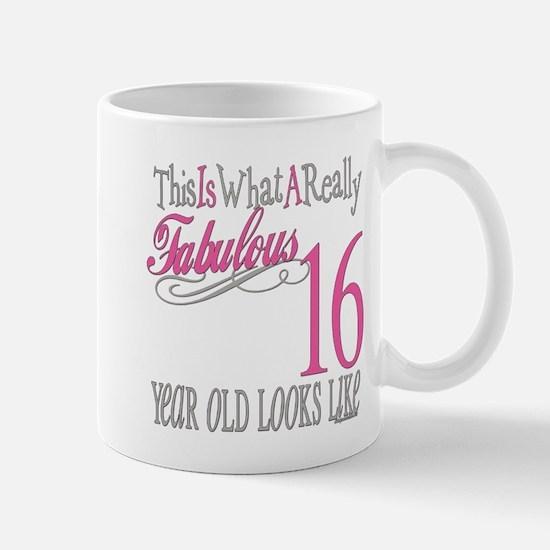 16th Birthday Gifts Mug