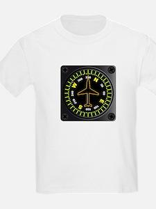 Aircraft Compass T-Shirt