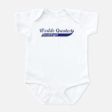 Greatest Gerontologist Infant Bodysuit