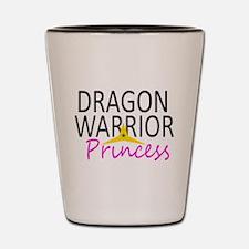 Dragon Princess (large print) Shot Glass