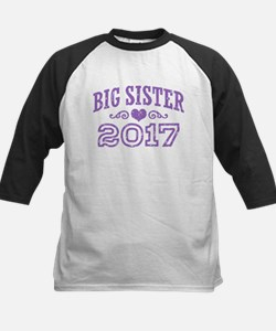 Big Sister 2017 Kids Baseball Jersey