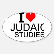 I Love Judaic Studies Decal