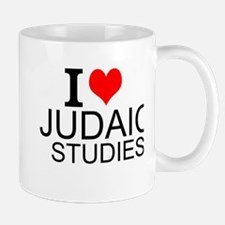 I Love Judaic Studies Mugs