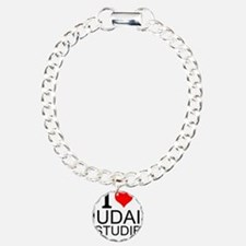 I Love Judaic Studies Bracelet