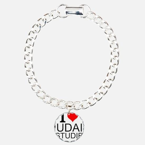 I Love Judaic Studies Bracelet