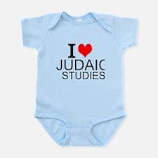 I Love Judaic Studies Body Suit