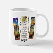 Green Cheeked Conure Mugs