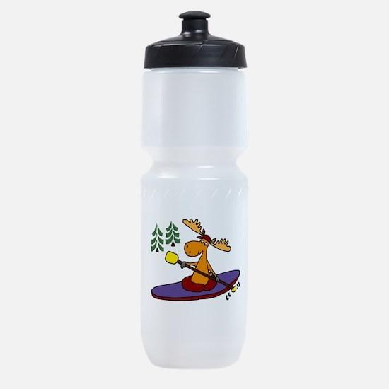 Kayaking Moose Sports Bottle