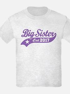 Big Sister Est. 2017 T-Shirt