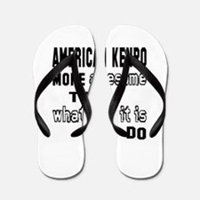 American Kenpo more awesome than whatev Flip Flops