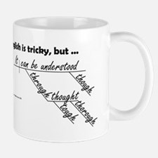 English Is Tricky Mugs