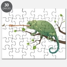 Chameleon catching insect Puzzle