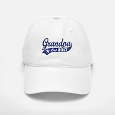 Grandpa Est. 2017 Baseball Baseball Cap