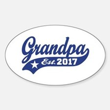 Grandpa Est. 2017 Decal