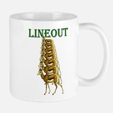 Springboks Rugby Lineout Mug