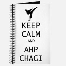 keep calm and ahp chagi Journal