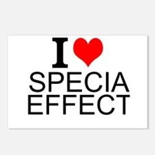 I Love Special Effects Postcards (Package of 8)