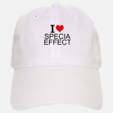 I Love Special Effects Baseball Baseball Baseball Cap