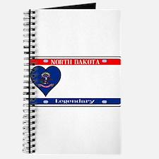 North Dakota License Plate Journal