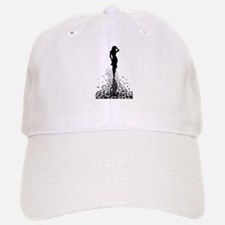 Walking Home Barefoot Baseball Baseball Cap