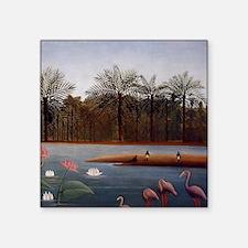 The Flamingos Sticker