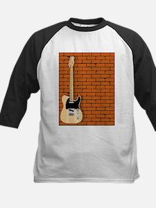 Guitar Wall Baseball Jersey