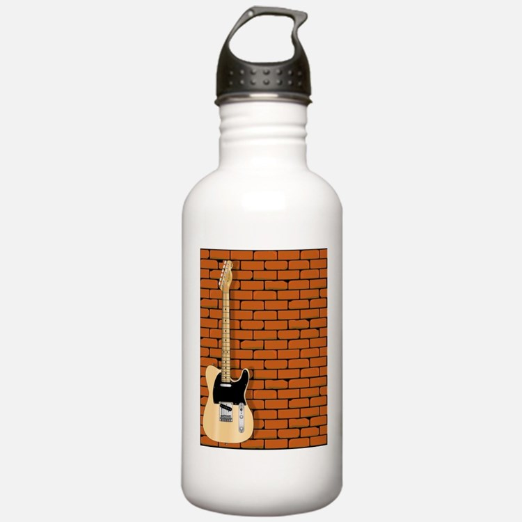 Guitar Wall Water Bottle