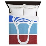 Lacrosse Luxe Full/Queen Duvet Cover