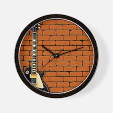 Rock Guitar Wall Wall Clock