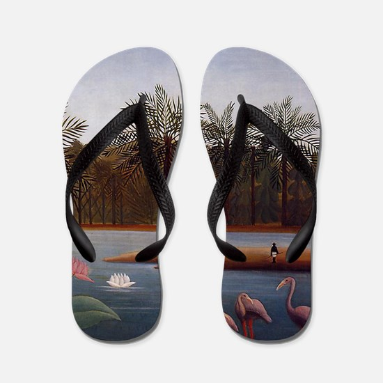 The Flamingos Flip Flops
