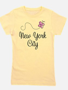 Funny New york city Girl's Tee
