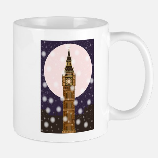 London Christmas Eve Mugs
