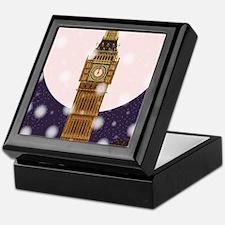 London Christmas Eve Keepsake Box
