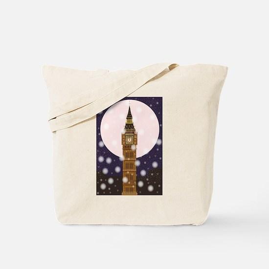 London Christmas Eve Tote Bag