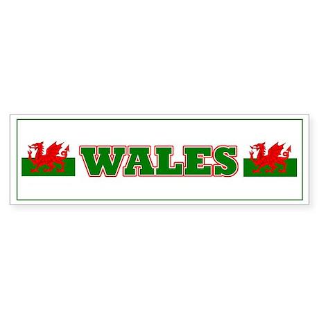 Welsh Stickers Bumper Sticker