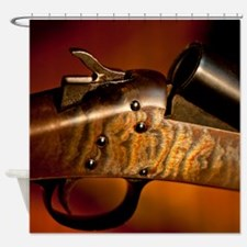 Goose Gun Shower Curtain