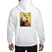 VINTAGE DOG ART: HUNTER, FOXHOUNDS... Hoodie