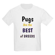 Pug Dog Kids T-Shirt