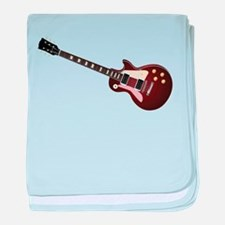 Les Paul guitar baby blanket