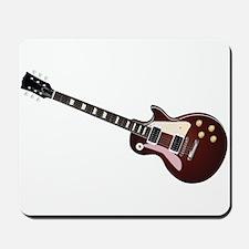 Les Paul guitar Mousepad