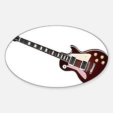 Les Paul guitar Decal