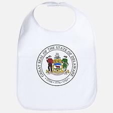 Great Seal of Delaware Bib