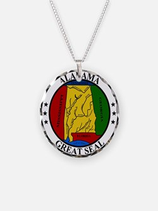 Alabama State Seal Necklace