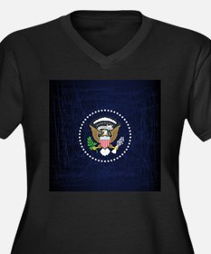 President Seal Eagle Plus Size T-Shirt