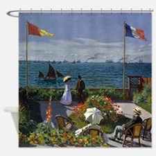Jardin A Sainte Adresse by Claude M Shower Curtain