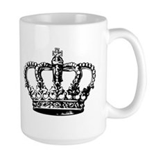 Black Crown Mug