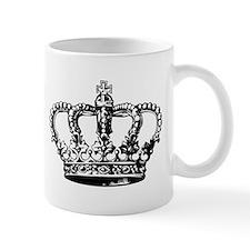 Black Crown Small Mug